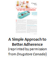 A Simple Approach to Better Adherence