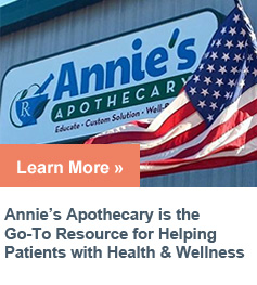 "Annie's Apothecary is the Go-To"" resource for helping patients with health and wellness"