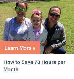 How to save 70 hours per month