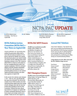 July 2016 NCPA PAC Update