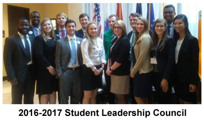 2016-2017 Student Leadership Council